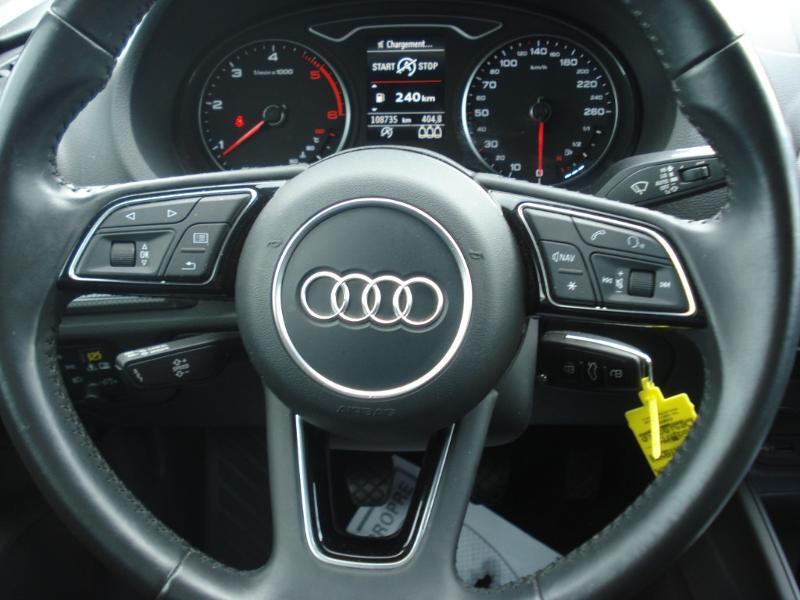 Audi A3 Sportback 2.0 TDI 150ch Design quattro Bleu occasion à Aurillac - photo n°12