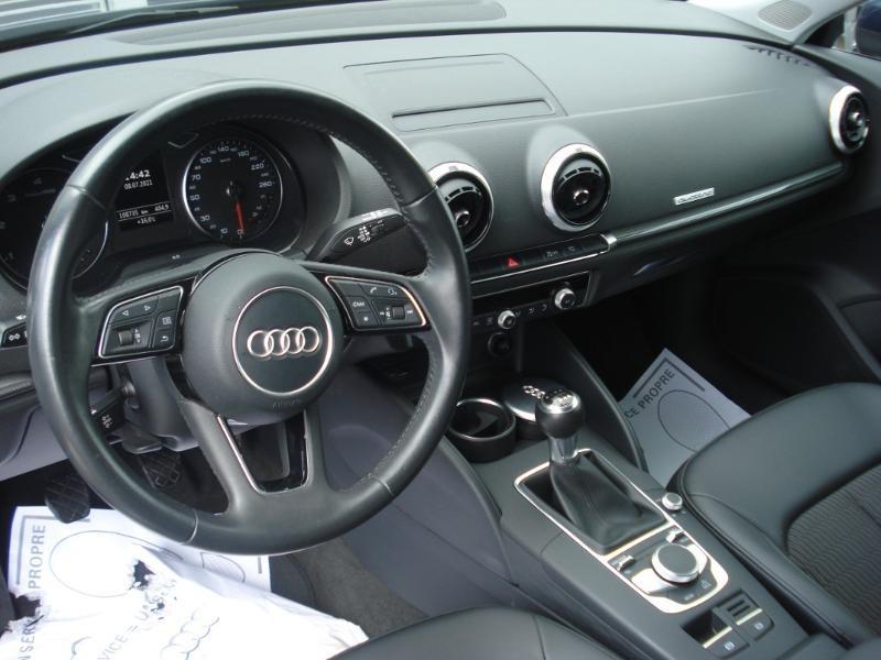 Audi A3 Sportback 2.0 TDI 150ch Design quattro Bleu occasion à Aurillac - photo n°13