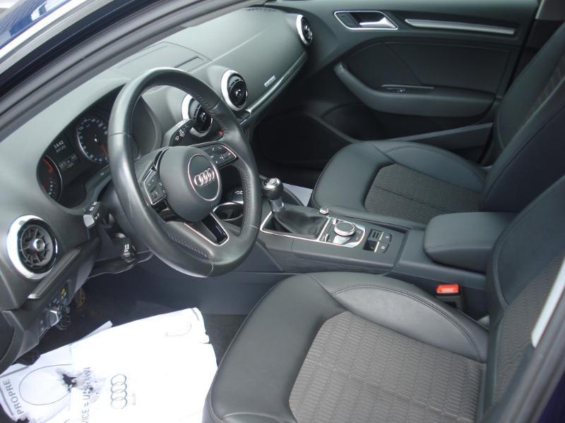 Audi A3 Sportback 2.0 TDI 150ch Design quattro Bleu occasion à Aurillac - photo n°14