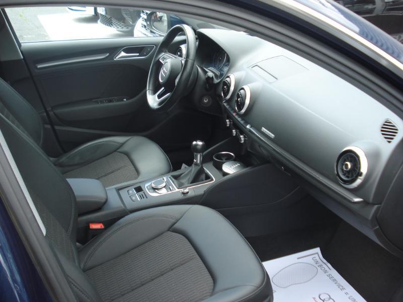 Audi A3 Sportback 2.0 TDI 150ch Design quattro Bleu occasion à Aurillac - photo n°15