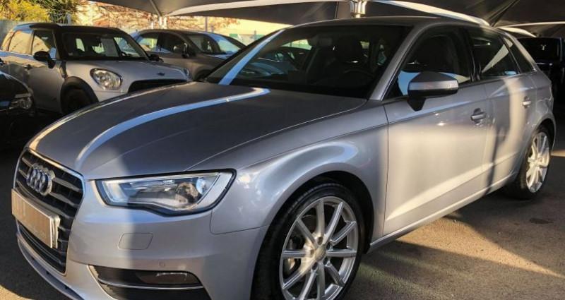 Audi A3 Sportback 2.0 TDI 150CH FAP AMBITION LUXE S TRONIC 6 Gris occasion à Villeneuve Loubet