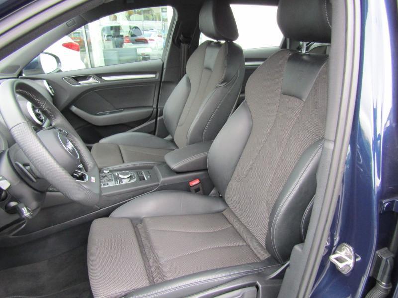 Audi A3 Sportback 2.0 TDI 150ch S line S tronic 7 Bleu occasion à Millau - photo n°8