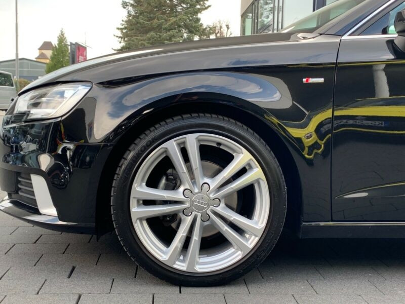 Audi A3 Sportback 2.0 TDI 150CH S LINE S TRONIC 7 Noir occasion à Villenave-d'Ornon - photo n°8