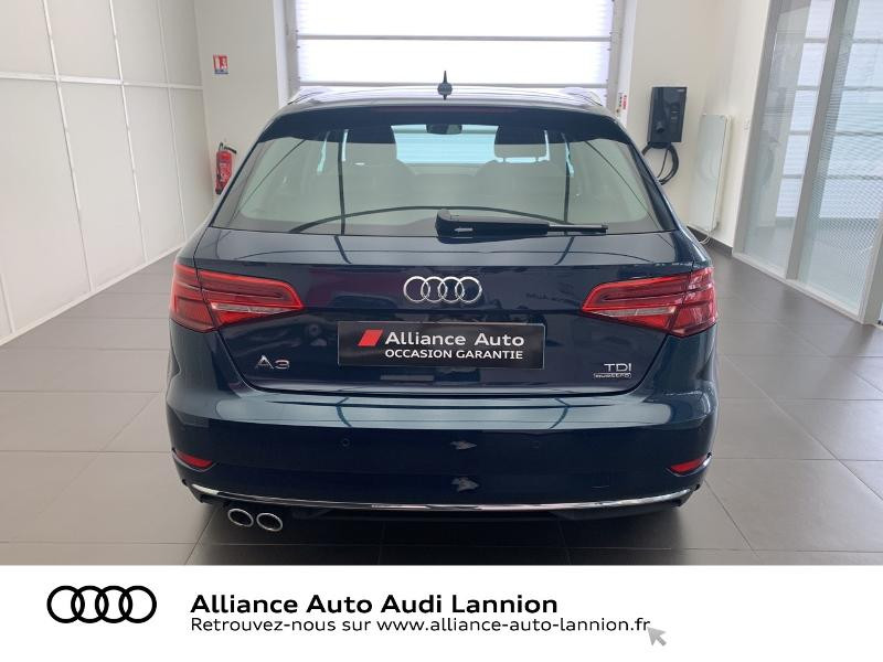 Audi A3 Sportback 2.0 TDI 184ch Design luxe quattro S tronic 7 Bleu occasion à Lannion - photo n°5