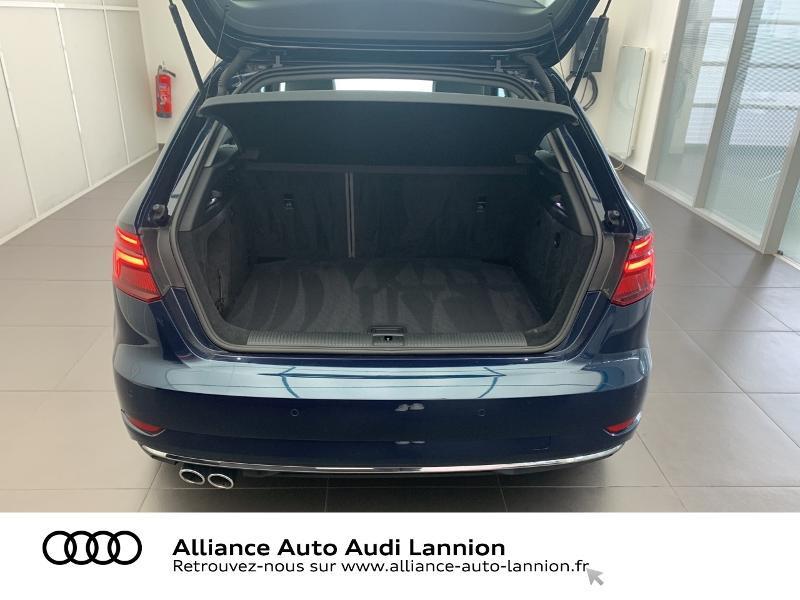 Audi A3 Sportback 2.0 TDI 184ch Design luxe quattro S tronic 7 Bleu occasion à Lannion - photo n°16