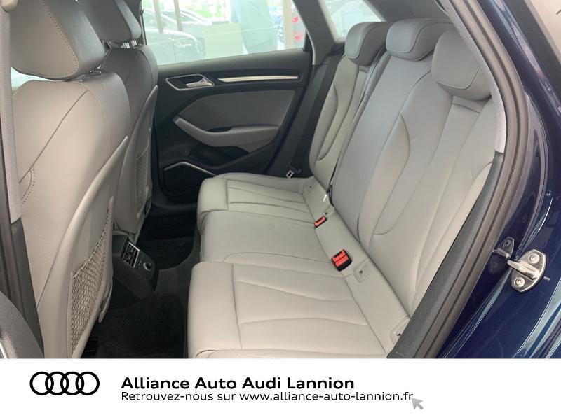 Audi A3 Sportback 2.0 TDI 184ch Design luxe quattro S tronic 7 Bleu occasion à Lannion - photo n°8