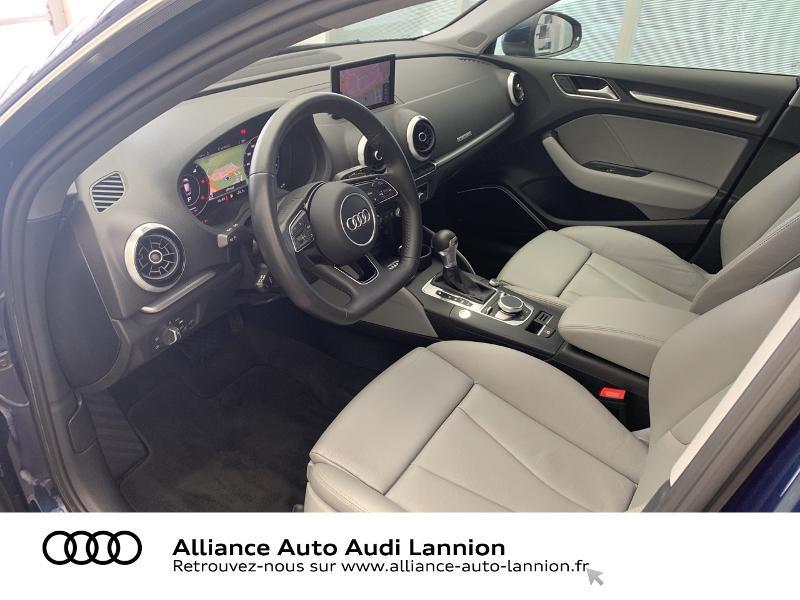 Audi A3 Sportback 2.0 TDI 184ch Design luxe quattro S tronic 7 Bleu occasion à Lannion - photo n°6