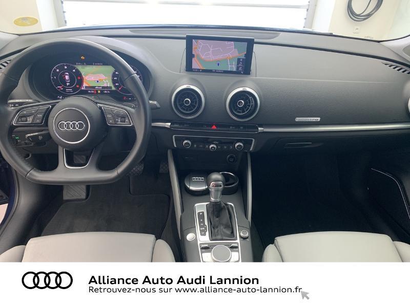 Audi A3 Sportback 2.0 TDI 184ch Design luxe quattro S tronic 7 Bleu occasion à Lannion - photo n°12
