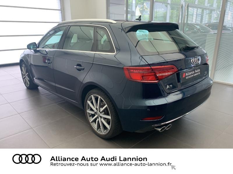 Audi A3 Sportback 2.0 TDI 184ch Design luxe quattro S tronic 7 Bleu occasion à Lannion - photo n°9