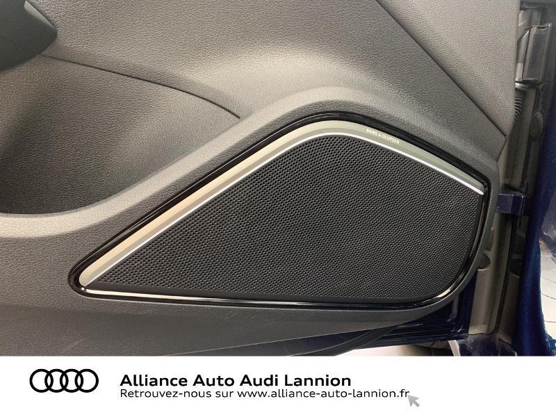 Audi A3 Sportback 2.0 TDI 184ch Design luxe quattro S tronic 7 Bleu occasion à Lannion - photo n°11