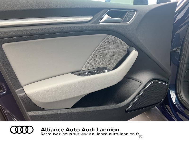 Audi A3 Sportback 2.0 TDI 184ch Design luxe quattro S tronic 7 Bleu occasion à Lannion - photo n°10