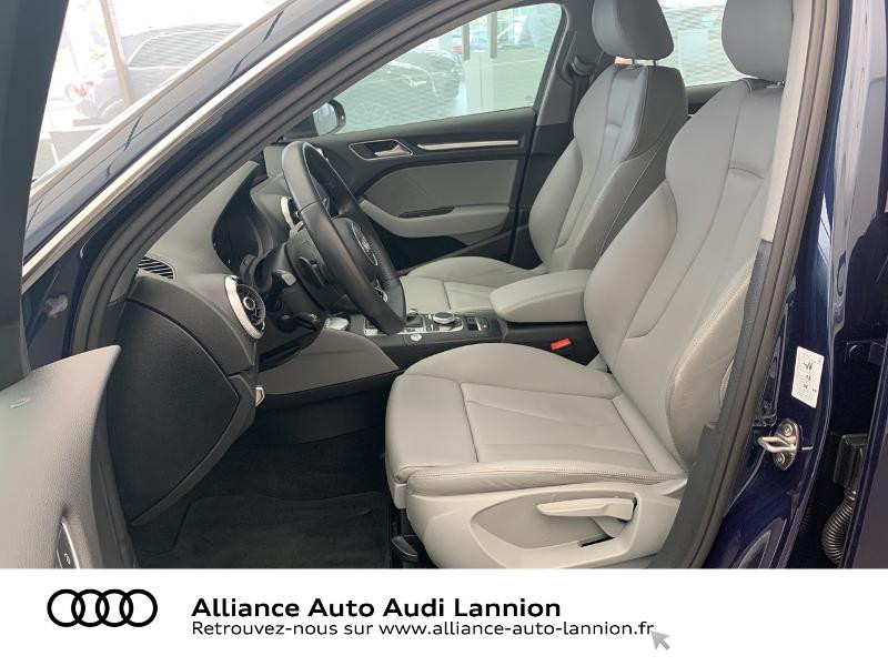 Audi A3 Sportback 2.0 TDI 184ch Design luxe quattro S tronic 7 Bleu occasion à Lannion - photo n°7