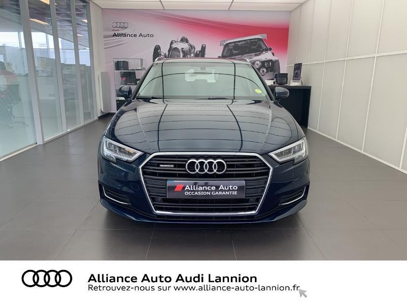 Audi A3 Sportback 2.0 TDI 184ch Design luxe quattro S tronic 7 Bleu occasion à Lannion - photo n°2