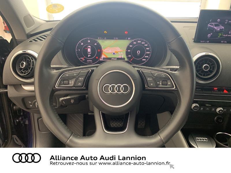Audi A3 Sportback 2.0 TDI 184ch Design luxe quattro S tronic 7 Bleu occasion à Lannion - photo n°15