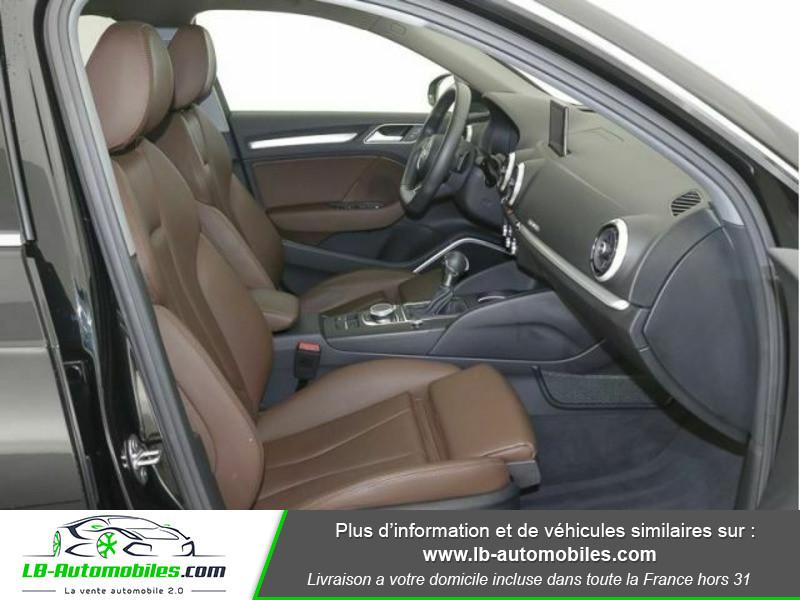 Audi A3 Sportback 2.0 TFSI 190 S tronic Quattro Noir occasion à Beaupuy - photo n°4
