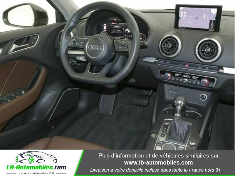 Audi A3 Sportback 2.0 TFSI 190 S tronic Quattro Noir occasion à Beaupuy - photo n°2