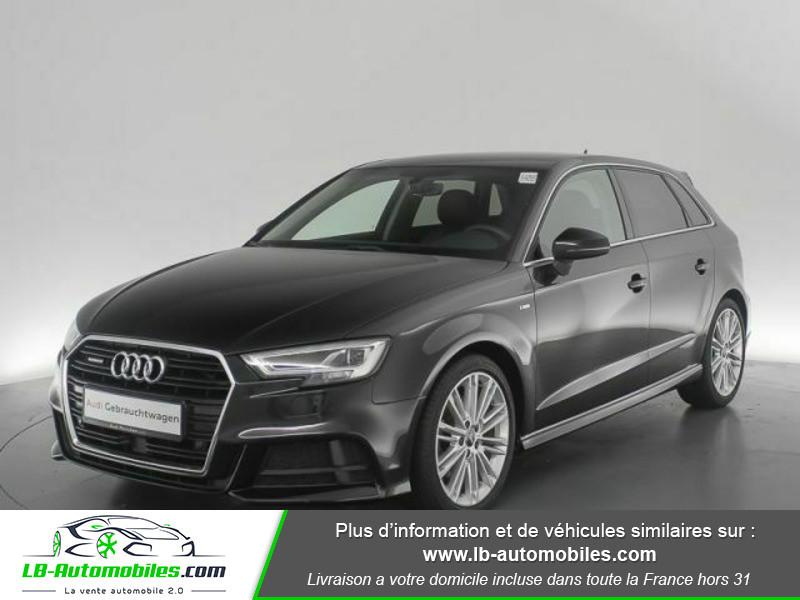 Audi A3 Sportback 2.0 TFSI 190 S tronic Quattro Noir occasion à Beaupuy