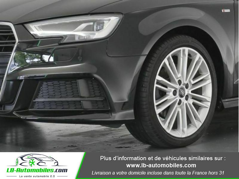 Audi A3 Sportback 2.0 TFSI 190 S tronic Quattro Noir occasion à Beaupuy - photo n°11