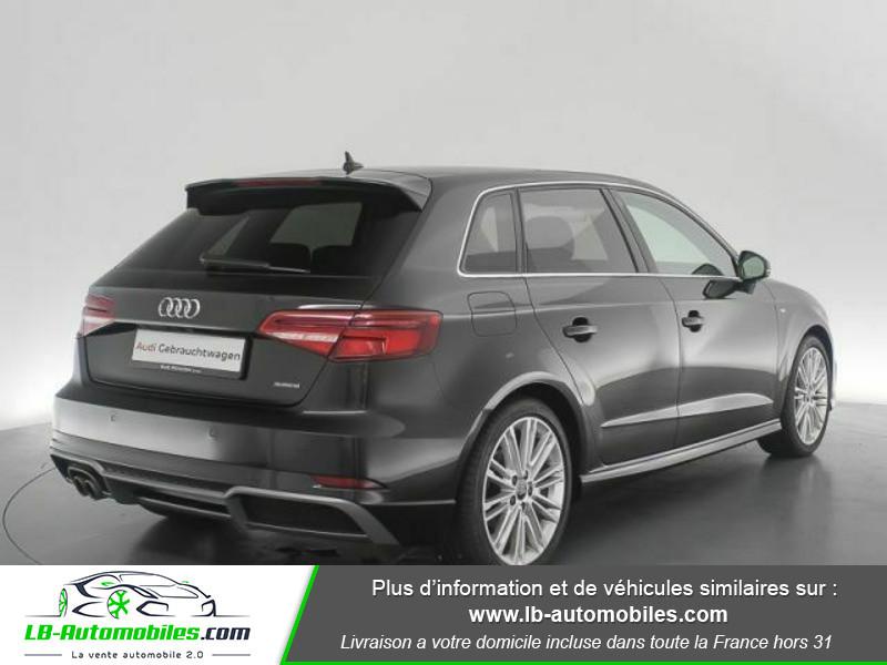 Audi A3 Sportback 2.0 TFSI 190 S tronic Quattro Noir occasion à Beaupuy - photo n°3