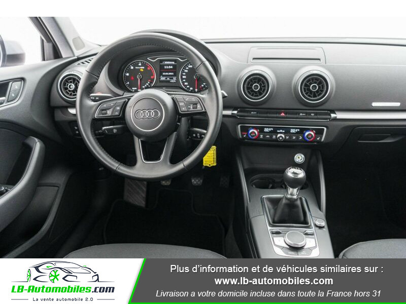 Audi A3 Sportback 30 TDI 116 Argent occasion à Beaupuy - photo n°7