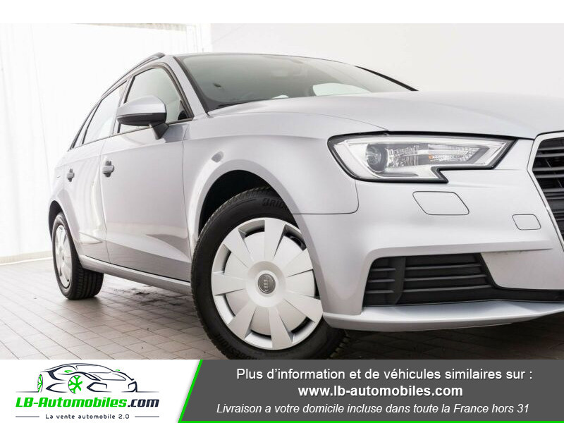 Audi A3 Sportback 30 TDI 116 Argent occasion à Beaupuy - photo n°15