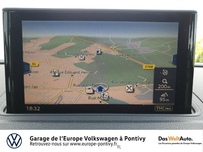 Audi A3 Sportback 30 TDI 116ch Design luxe S tronic 7 Euro6d-T Noir occasion à PONTIVY - photo n°8