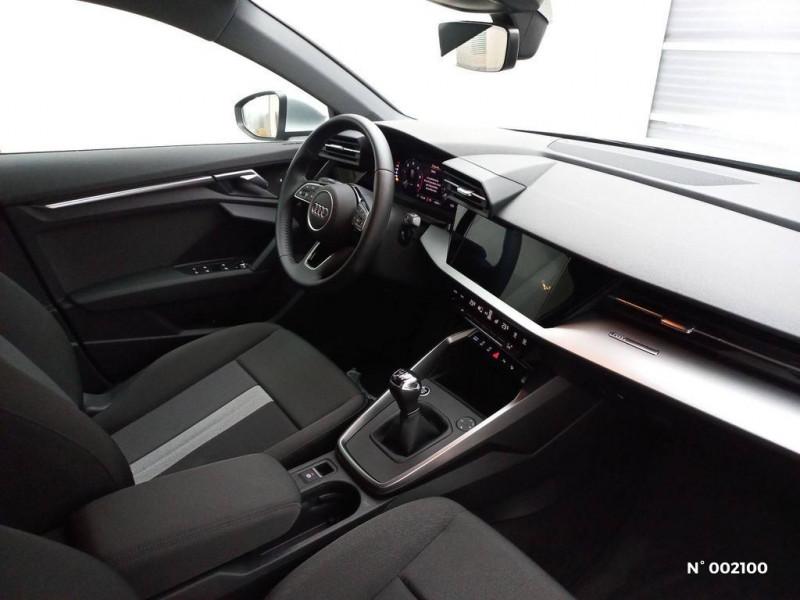 Audi A3 Sportback 30 TDI 116ch Design Argent occasion à Brie-Comte-Robert - photo n°8