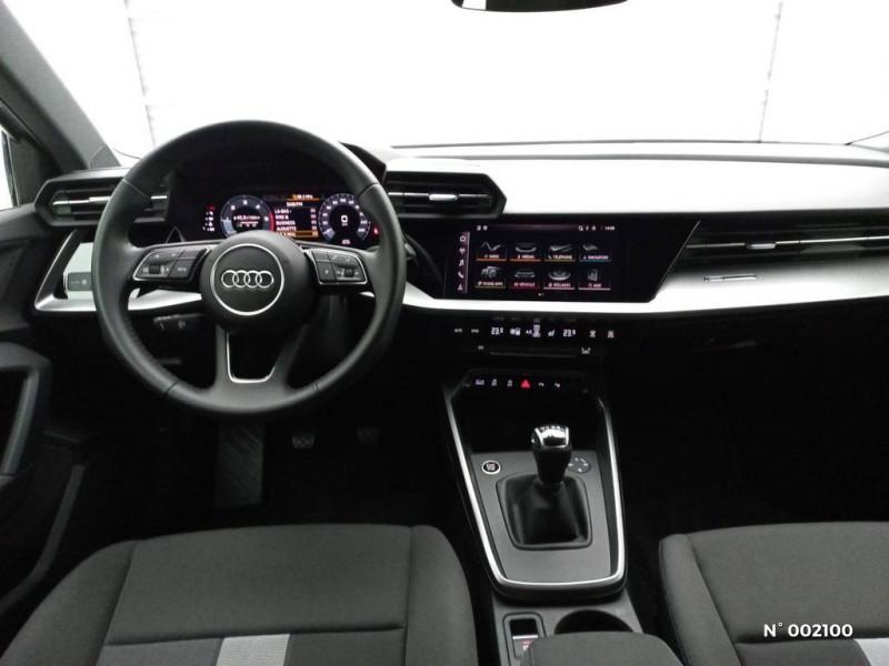 Audi A3 Sportback 30 TDI 116ch Design Argent occasion à Brie-Comte-Robert - photo n°9
