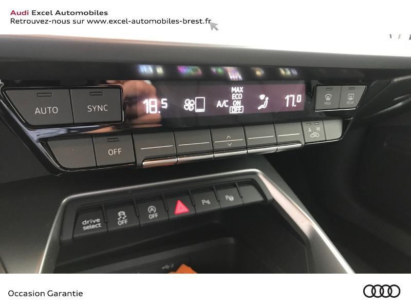 Audi A3 Sportback 30 TDI 116ch S line Blanc occasion à Brest - photo n°12
