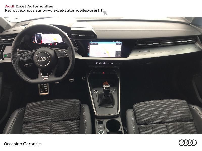 Audi A3 Sportback 30 TDI 116ch S line Blanc occasion à Brest - photo n°7