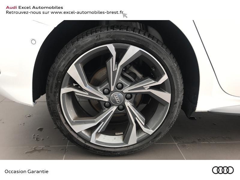 Audi A3 Sportback 30 TDI 116ch S line Blanc occasion à Brest - photo n°16