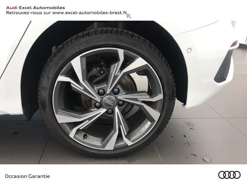 Audi A3 Sportback 30 TDI 116ch S line Blanc occasion à Brest - photo n°15