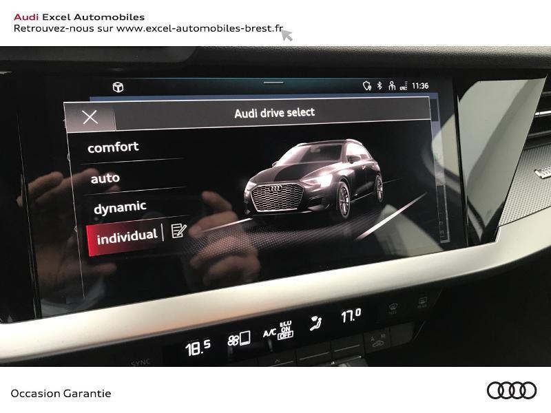 Audi A3 Sportback 30 TDI 116ch S line Blanc occasion à Brest - photo n°13