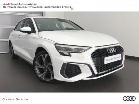 Audi A3 Sportback occasion 2020 mise en vente à Brest par le garage AUDI BREST EXCEL AUTOMOBILES - photo n°1
