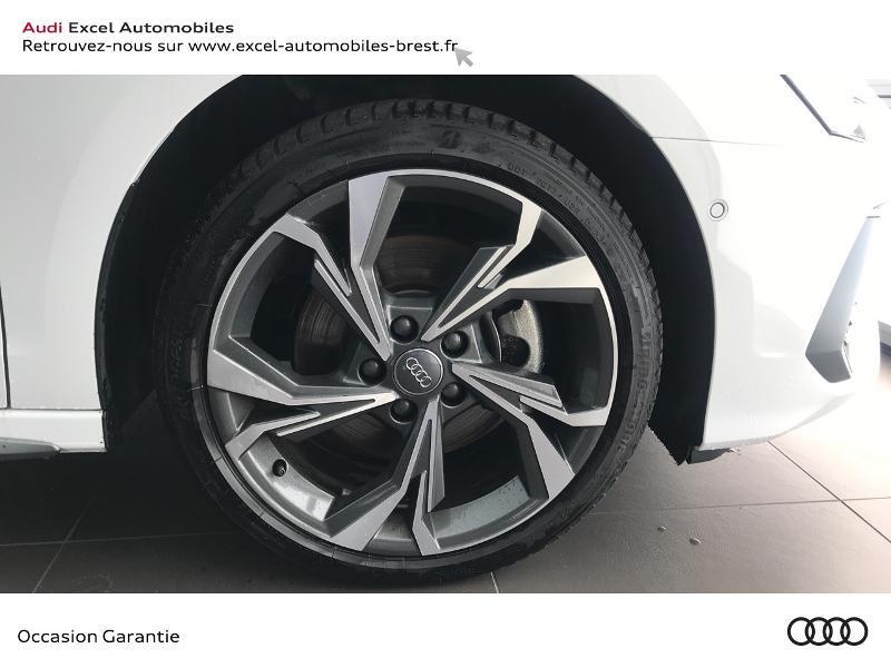 Audi A3 Sportback 30 TDI 116ch S line Blanc occasion à Brest - photo n°17