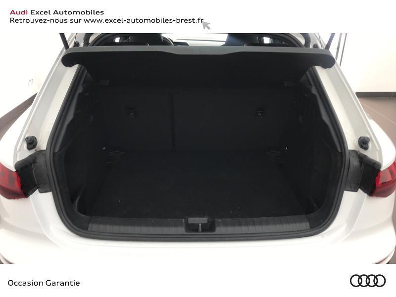 Audi A3 Sportback 30 TDI 116ch S line Blanc occasion à Brest - photo n°9