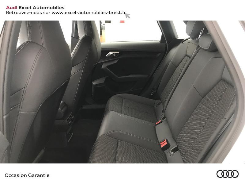 Audi A3 Sportback 30 TDI 116ch S line Blanc occasion à Brest - photo n°8