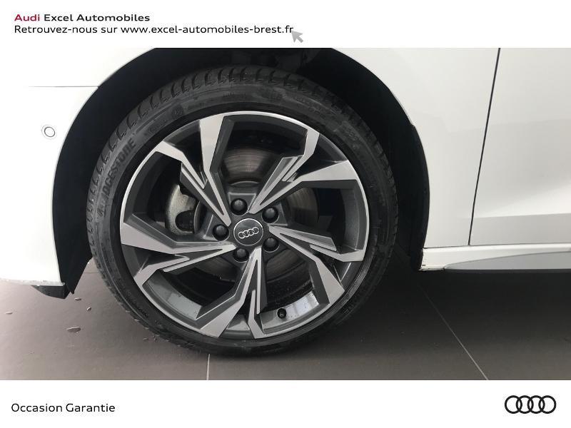 Audi A3 Sportback 30 TDI 116ch S line Blanc occasion à Brest - photo n°14