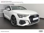 Audi A3 Sportback 30 TDI 116ch S line Blanc 2020 - annonce de voiture en vente sur Auto Sélection.com