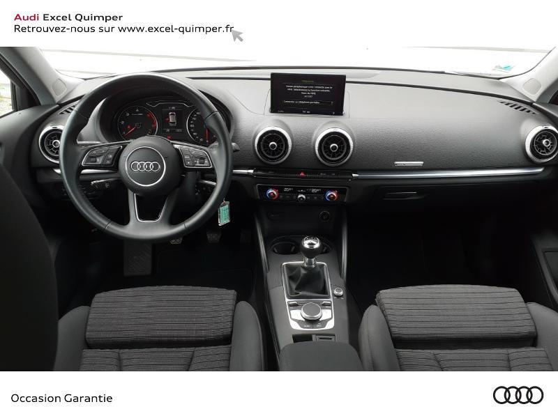 Audi A3 Sportback 30 TDI 116ch Sport Euro6d-T Blanc occasion à Quimper - photo n°6