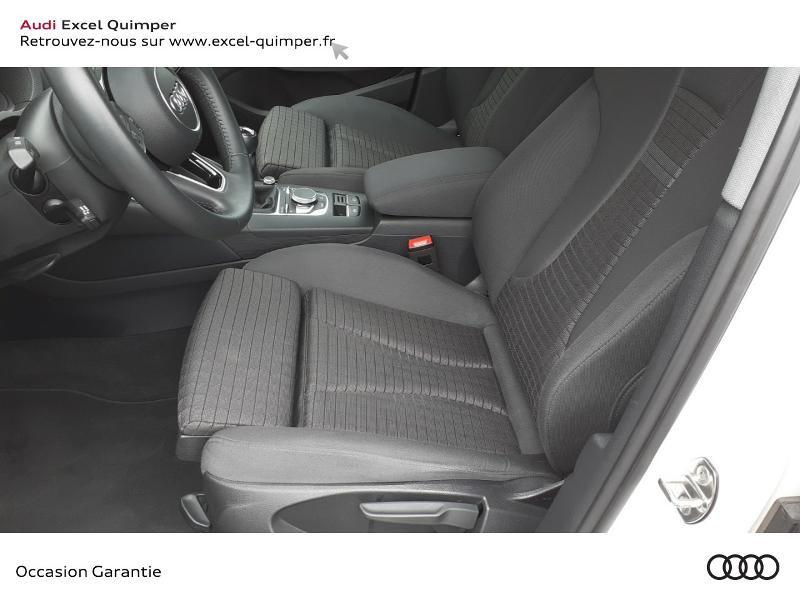 Audi A3 Sportback 30 TDI 116ch Sport Euro6d-T Blanc occasion à Quimper - photo n°7