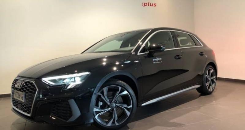 Audi A3 Sportback 30 TFSI 110 S tronic 7 S line Noir occasion à Chenove