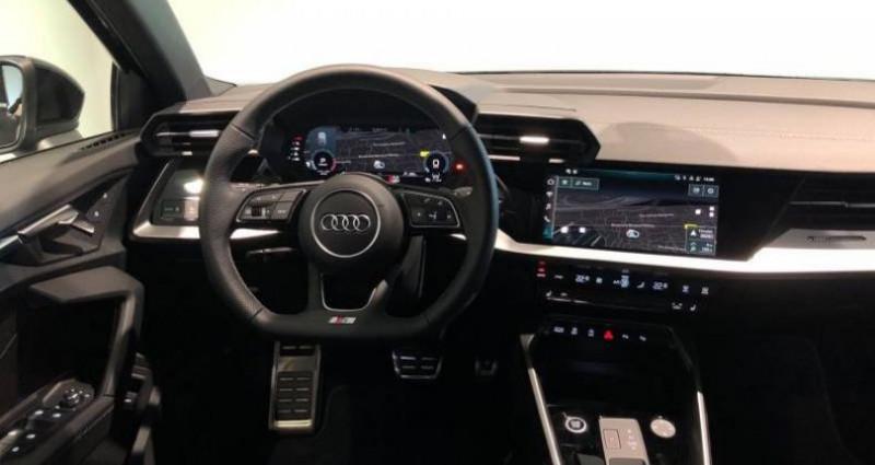 Audi A3 Sportback 30 TFSI 110 S tronic 7 S line Noir occasion à Chenove - photo n°6