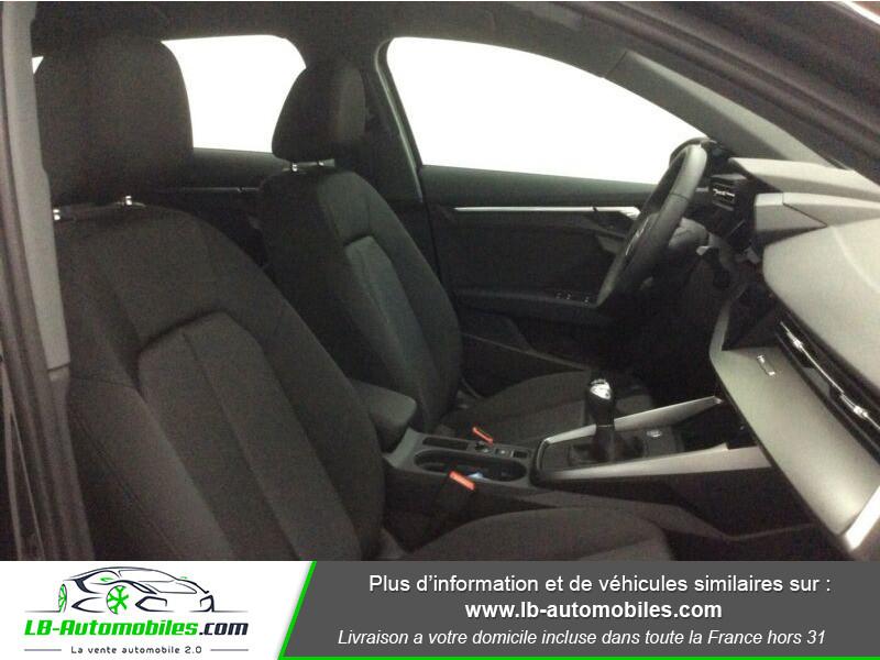 Audi A3 Sportback 30 TFSI 110 Noir occasion à Beaupuy - photo n°6