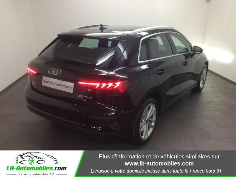 Audi A3 Sportback 30 TFSI 110 Noir occasion à Beaupuy - photo n°3