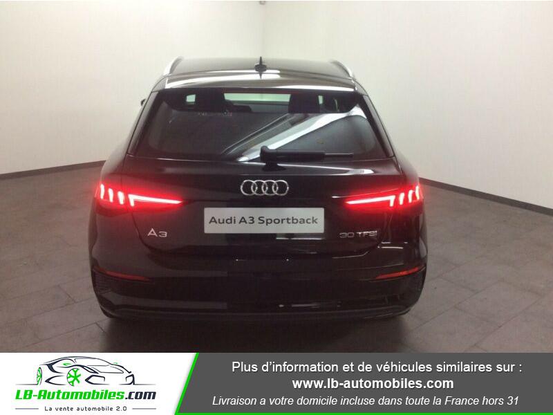 Audi A3 Sportback 30 TFSI 110 Noir occasion à Beaupuy - photo n°5