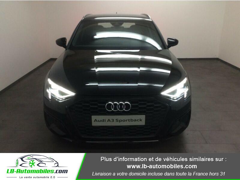 Audi A3 Sportback 30 TFSI 110 Noir occasion à Beaupuy - photo n°4