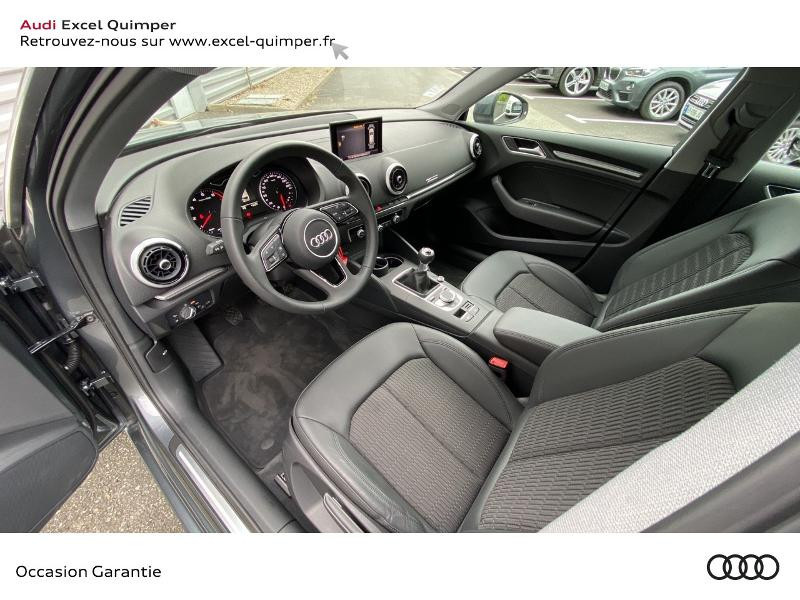 Audi A3 Sportback 30 TFSI 116ch Design Euro6d-T Gris occasion à Quimper - photo n°6