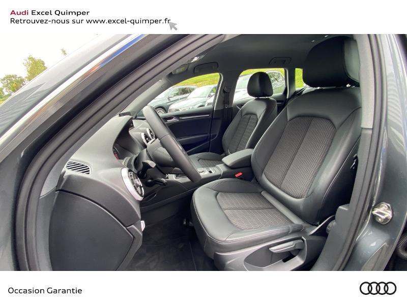 Audi A3 Sportback 30 TFSI 116ch Design Euro6d-T Gris occasion à Quimper - photo n°7