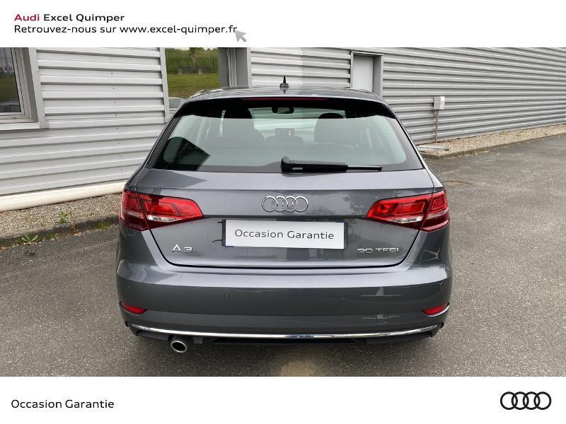 Audi A3 Sportback 30 TFSI 116ch Design Euro6d-T Gris occasion à Quimper - photo n°5